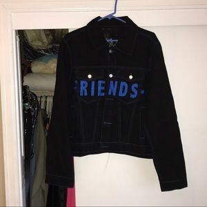 Vlone denim jacket